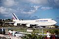 48bd - Air France Boeing 747-300; F-GETB@SXM;03.02.1999 (4734033291).jpg