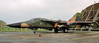 493d Fighter Squadron - 493d TFS General Dynamics F-111F - 72-449