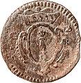4 Pfennige, Landesdenkmalamt Berlin, Ausgrabung U5, 970 – 1275, Rückseite.jpg