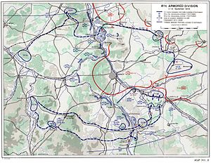 Battle of Nancy (1944) - 4th Armored Division encircles Nancy