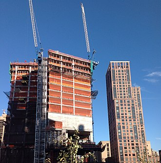 10 Hudson Yards - Image: 500 W 30th Street from west Sept 2014