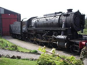 Russian locomotive class Ye - An S160 locomotive.