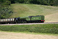 60163 Tornado on the West Somerset Railway at Castle Hill Sampford Brett 1 June 2009.jpg