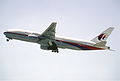 61ct - Malaysia Airlines Boeing 777-2H6ER; 9M-MRH@ZRH;25.06.1999 (6328180227).jpg