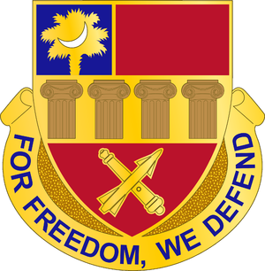 678th Air Defense Artillery Brigade (United States) - Image: 678 ADA Bde DUI