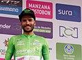 6 Etapa-Vuelta a Colombia 2018-Ciclista Carlos Julian Quintero-Lider Sprint Especial.jpg