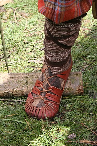 Shoe - Footwear of Roman soldiers (reconstruction)
