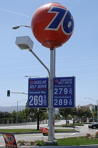 76 (gas station) - Union 76 ball sign