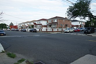 Euclid Avenue (IND Fulton Street Line) - The site of the planned station at 76th Street in Ozone Park, Queens