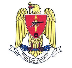 8th Mixed Artillery Brigade - Official insignia of the 8th LAROM Brigade