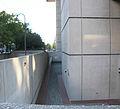 9th Street dry moat - J Edgar Hoover Building - Washington DC - 2012.jpg