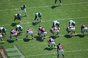 2007 Texas A&M Aggies football team - Image: A&M Baylor 2007