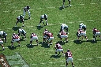 2007 Texas A&M Aggies football team - Image: A&M Baylor 2007