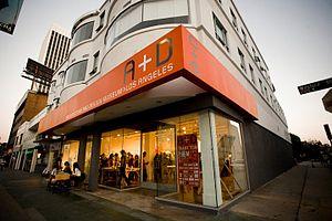 A+D Museum - Image: A+D Museum