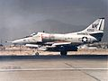 A-4E Skyhawk of VMA-121 with bombs at Chu Lai.jpg