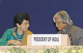 A.P.J. Abdul Kalam and The Minister of State (Independent Charge) for Housing and Urban Poverty Alleviation Kumari Selja, at the Inaugural function of the Asia Pacific Ministerial Conference on Housing and Human Settlements.jpg