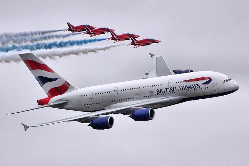 A380 & Red Arrows - RIAT 2013.jpg