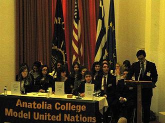 Anatolia College - Anatolia College Model United Nations opening ceremony 2009