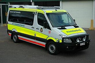 Paramedics in Australia - Image: ACTAS 315 Sprinter