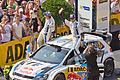 ADAC Rallye Deutschland 2013 - Fahrerpräsentation auf dem Roncalliplatz-4630.jpg