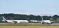 AIB A350 formation-flyby 29sep14 LFBO-1.jpg