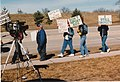 AIDS march 2 1990 aids protest Evansdale.jpg