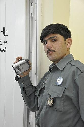 Kohsan District - Image: ANP officer at Kohsan in Herat Province