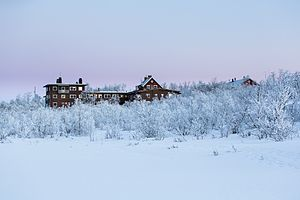 Climate Impacts Research Centre - ANS in winter.