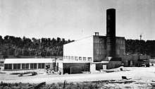 Aircraft Reactor Experiment building at ORNL, it was later retrofitted ...