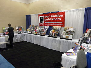 Transaction Publishers - 2008 conference booth
