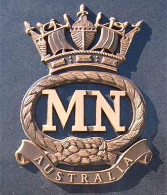 Australian Merchant Navy Memorial - Australian Merchant Navy badge