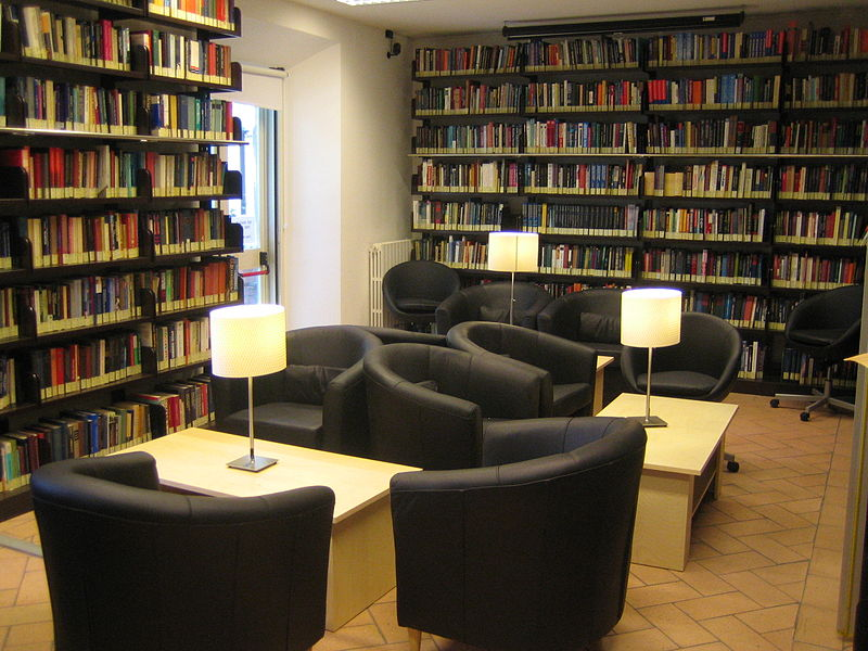 Library Evans Rooms