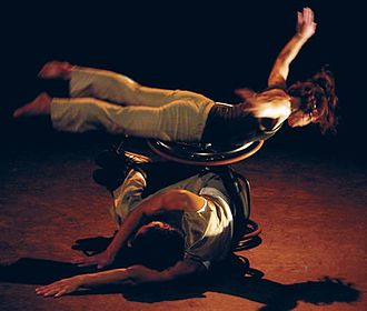 Disability in the arts - AXIS Dance Company members Sonsherée Giles and Rodney Bell perform an award-winning dance piece by Joe Goode in 2008.