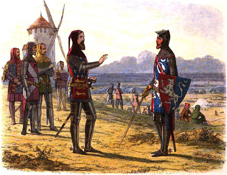 Edward III invaded France