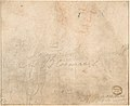 A Farm Building; verso- Head of a Woman and Slight Sketch of Woman Holding a Child MET DP801116.jpg