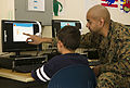 A Learning Community, U.S. Marines read with students in Spain 150227-M-ZB219-476.jpg