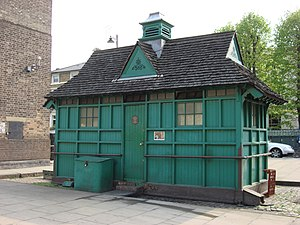 Cabmen's Shelter Fund - London Cabmen's Shelter in Warwick Avenue.