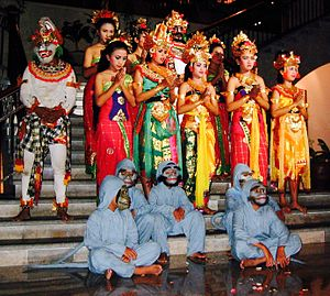 Ramlila - A Ramayana-based Ramlila dance troupe in Bali Indonesia.
