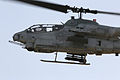 A U.S. Marine Corps AH-1W Super Cobra helicopter participates in a close air support training exercise in Yuma, Ariz., April 10, 2014, during Weapons and Tactics Instructor Course 2-14 140410-M-SD211-030.jpg