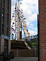 A glimpse of SS Great Britain - Gas Ferry Road - geograph.org.uk - 2430996.jpg