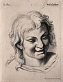 A laughing face. Engraving by M. Engelbrecht (?), 1732, afte Wellcome V0009350.jpg