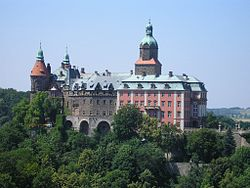 A panoramic view - the castle