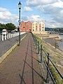 A riverside walkway, Barnstaple - geograph.org.uk - 1356179.jpg