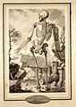 A skeleton in a classical landscape. Drawing by A. Joron. Wellcome L0027182.jpg