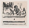A skeleton serving alcohol, from a broadside enitled 'Medicinas de Patente de mas Fama' MET DP869218-1.jpg
