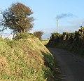 A sunken lane east of Ysgo - geograph.org.uk - 610456.jpg
