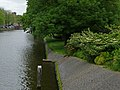 A view over the Nieuwe Herengracht canal in Amsterdam with the border of the Wertheim park; high resolution image by FotoDutch in June 2013.jpg