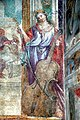 Abbazia di San Salvatore (Abbadia San Salvatore), Cappella della Madonna della Pieve, affreschi di Francesco Nasini e Antonio Annibale Nasini 06.jpg