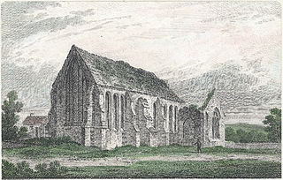 Aber Honddu collegiate chapel, Brecknockshire