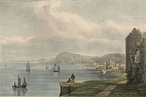 Aberystwyth: from the castle ruins